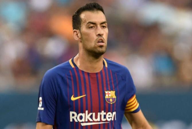 Busquets Slams Barcelona