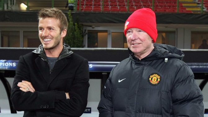 Beckham Reveals Ferguson Made Him Shave His Mohawk Off