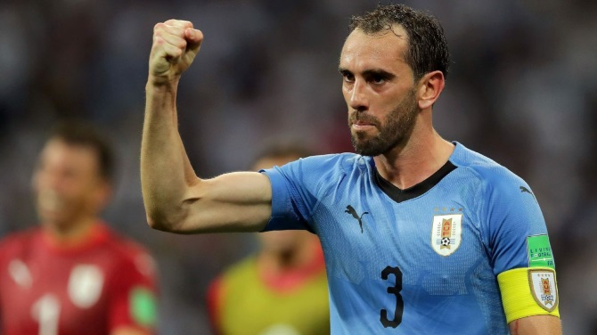 Godin Beams With Pride After Setting Uruguay Record