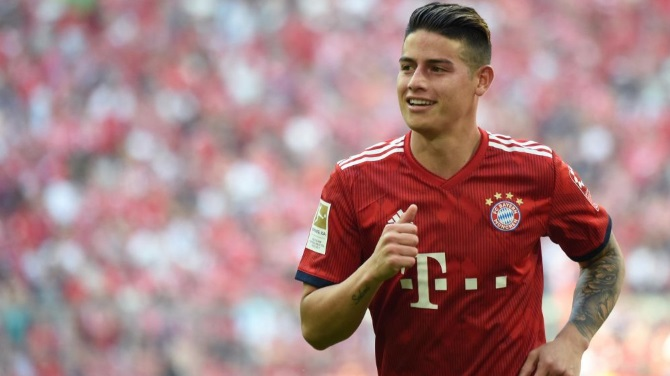 James Rodriguez Wants Bayern Munich Stay