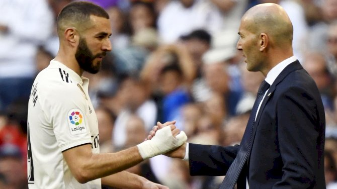 Zidane Advocates For Benzema Recall Into France Squad