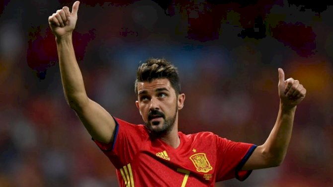 Spain Great David Villa Announces Retirement Plans