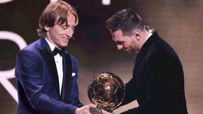 Lewandowski, Modric Congratulate Messi For Record Ballon D'or Win