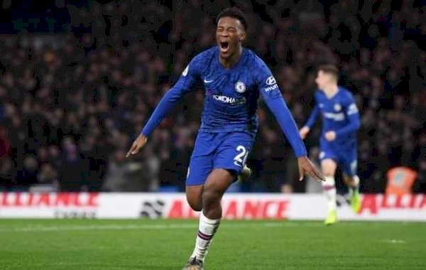 Hudson-Odoi Delighted To Get His First Premier League Goal Against Burnley