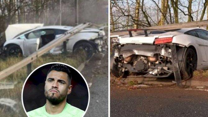 Sergio Romero Escapes Unhurt In Car Crash