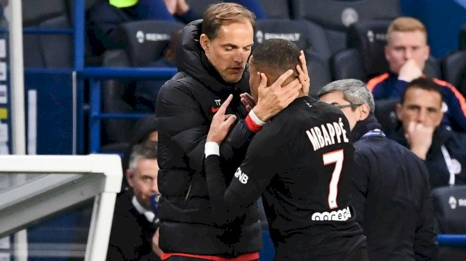 Mbappe's Angry Reaction To Substitution Bemuses Tuchel