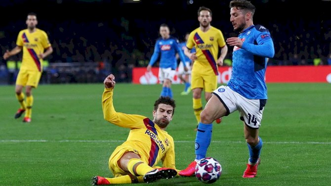 Barcelona vs Napoli To Be Played In Empty Stadium