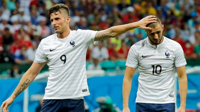 'Don't Compare Formula 1 With Karting'- Benzema Shades Giroud
