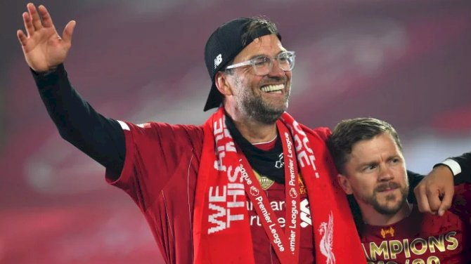 Klopp Wins Premier League Manager Of The Year Award