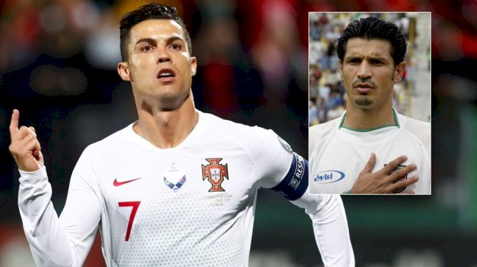 Ali Daei Backs Ronaldo To Break His Goalscoring Record