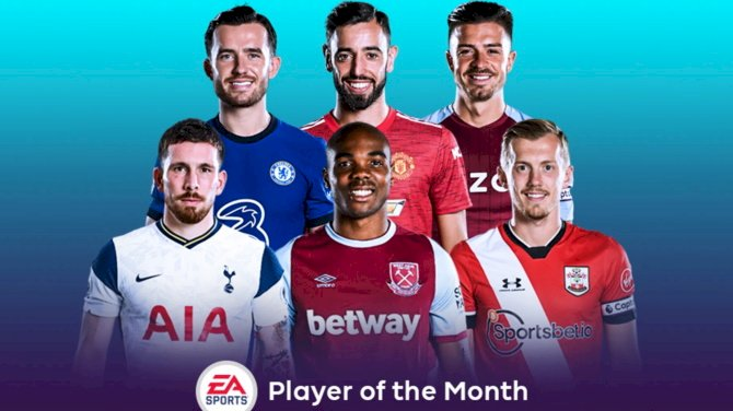 November Premier League Player Of The Month Shortlist Released