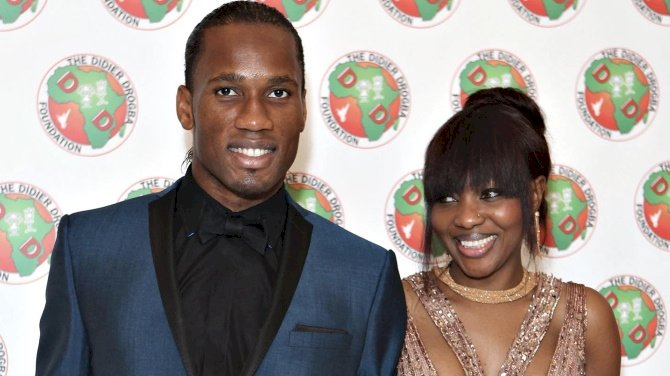 Drogba Announces Separation From Wife Of Ten Years