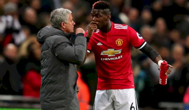 Mourinho Replies Pogba Over Criticism Of His Management Style