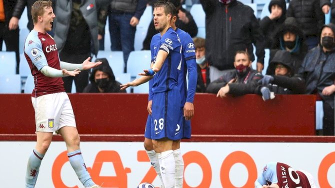 Azpilicueta's Red Card Against Aston Villa Overturned