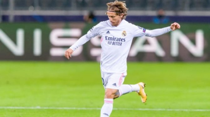 Modric Expresses Delight Over New Real Madrid Contract
