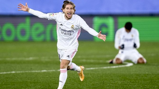 Modric Named Real Madrid's Player Of The Season