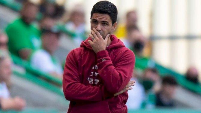 Arteta Expresses Disappointment As Arsenal Lose First Pre-Season Game To Hibernian