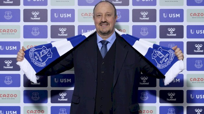 Benitez Vows To Give His All As Everton Manager