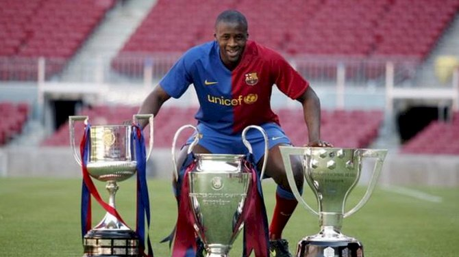 Yaya Toure Offers Helping Hand To Troubled Barcelona
