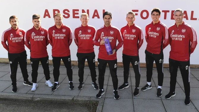 Arteta Wins Premier League Manager Of The Month For September